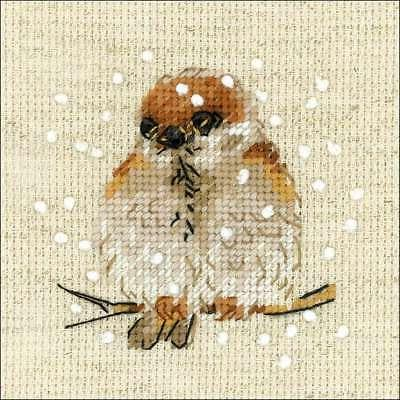 Counted Cross Stitch Kit RIOLIS Sparrow